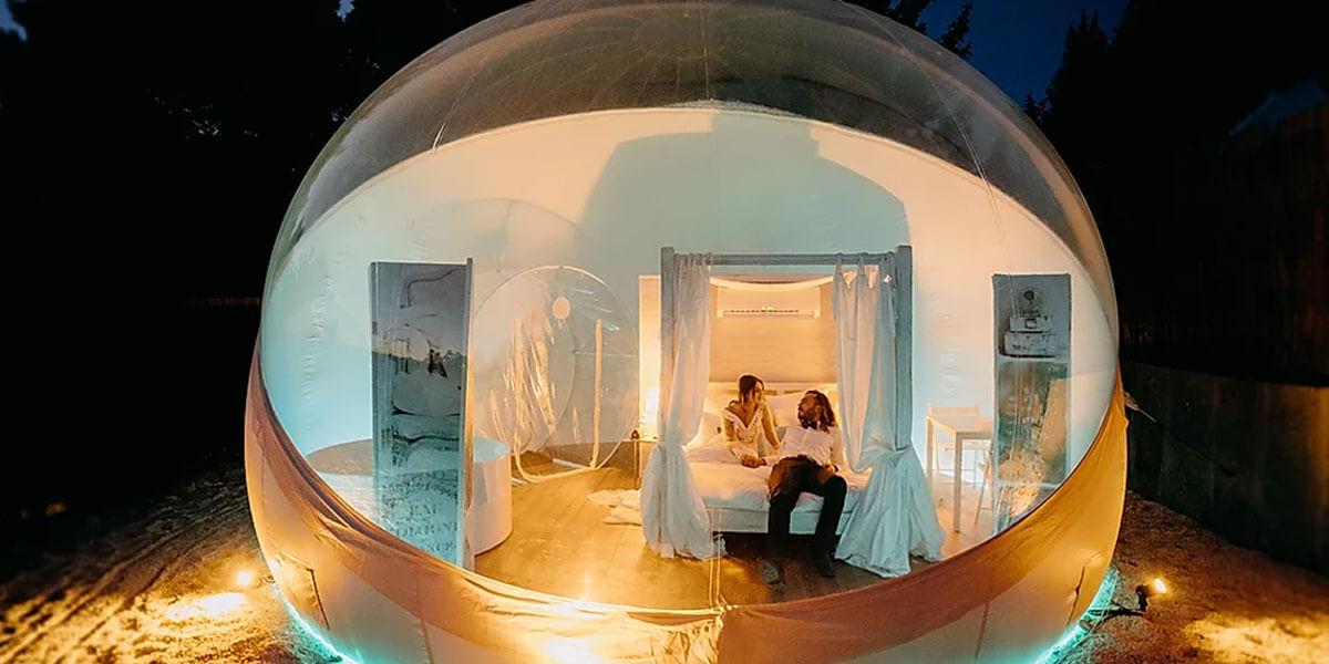 hoteles burbuja galicia