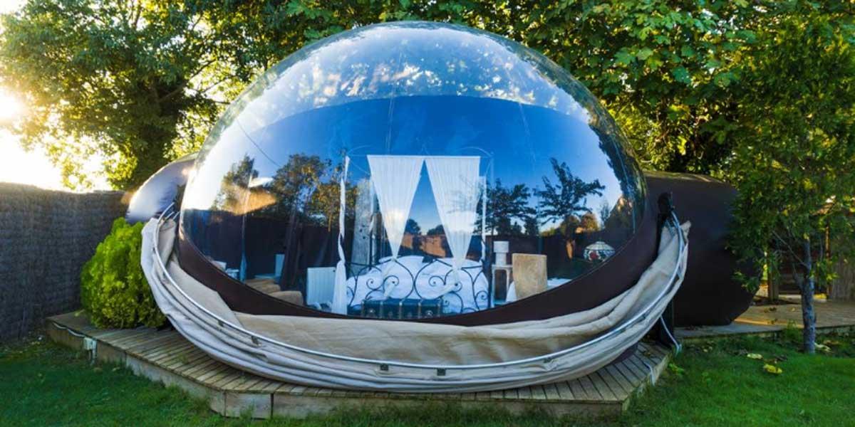 hotel burbuja cataluña