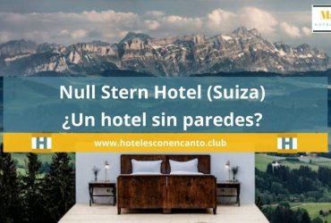 Null Stern Hotel (Suiza) ¿Un hotel sin paredes? ¡Mira!