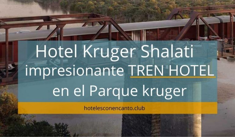 Hotel Kruger Shalati: impresionante tren hotel en el Parque kruger